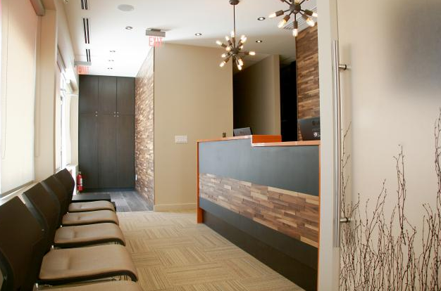 LVT dental office installation Toronto