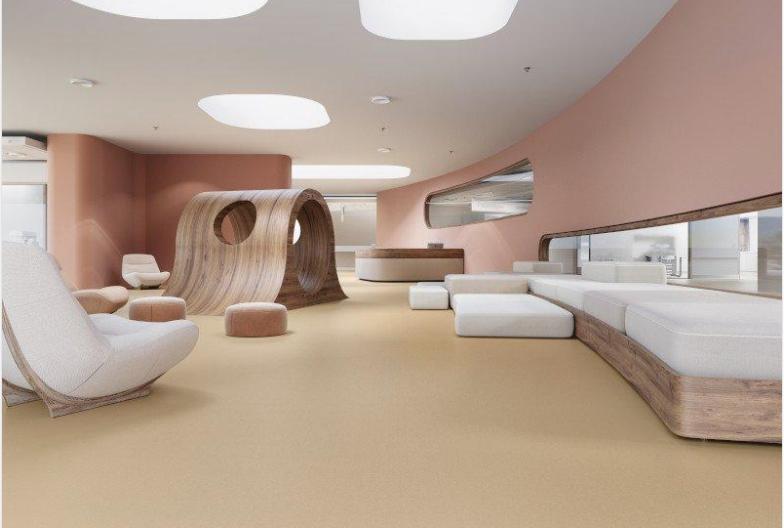 Liquid linoleum flooring solutions